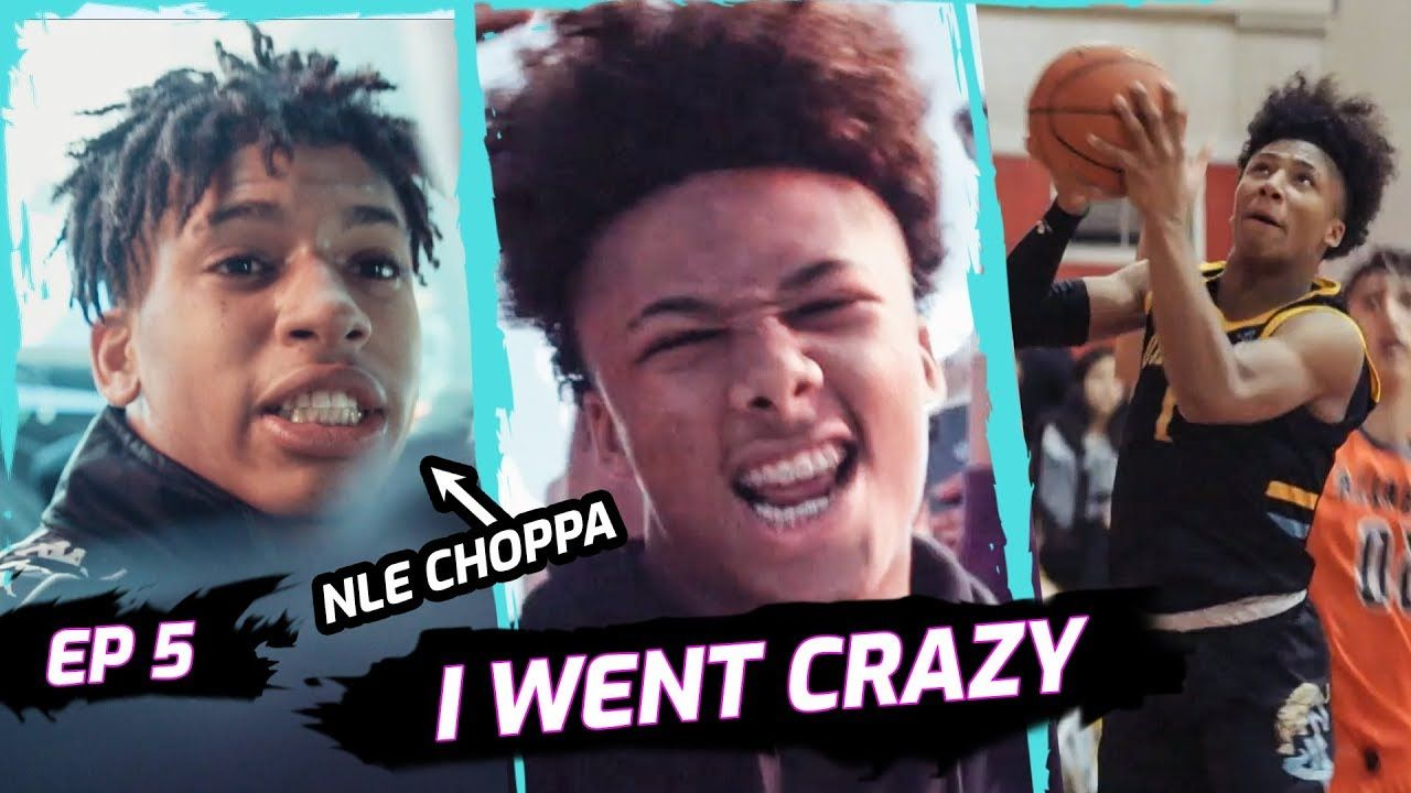 """Imagine 4 Years From Now."" Mikey Williams TURNS UP & DANCES With NLE Choppa After Scoring 77 😱"