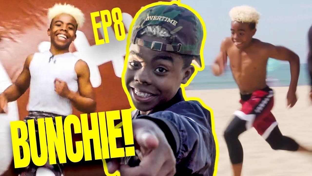 """This Is Getting INTENSE!"" 13 Year Old Bunchie Young Does BEACH WORKOUT Plus SPECIAL Training 😱"