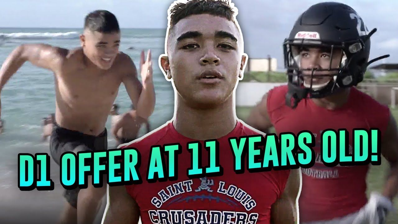 He Got An OFFER At 11... Hawaiian Phenom Titan Lacaden Talks D1 Future, His Grind & Watching Tua!