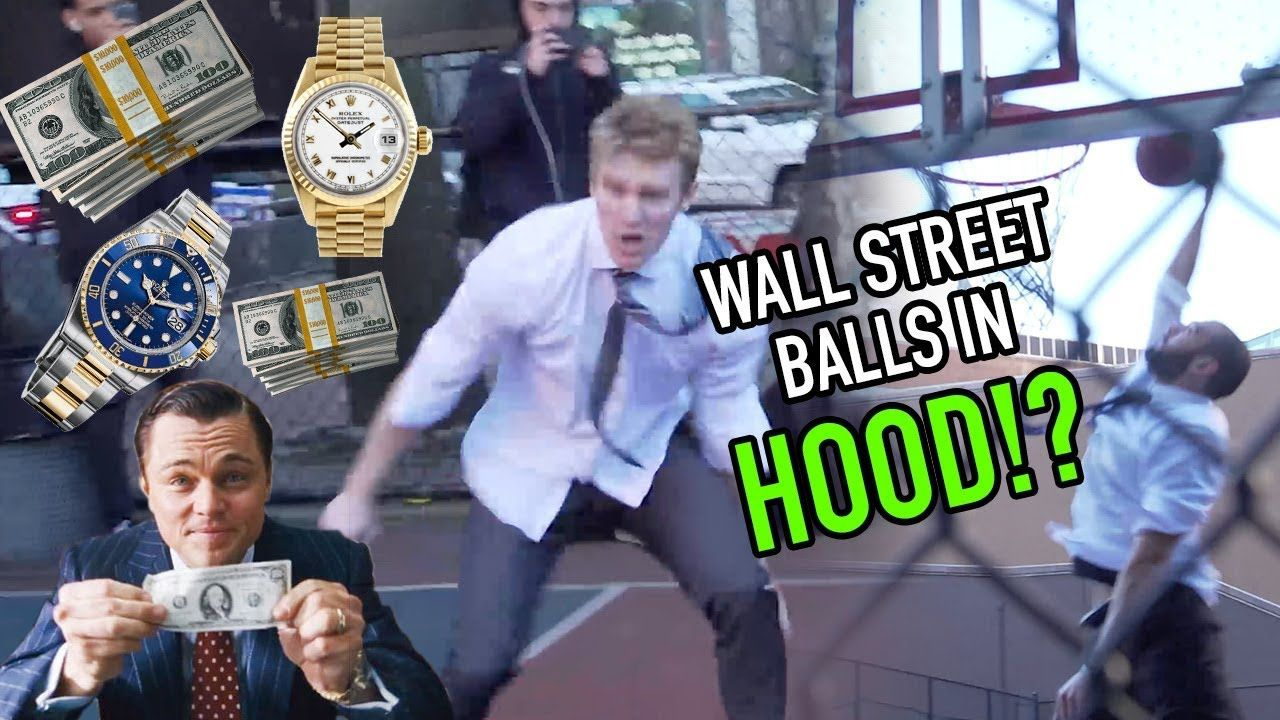"Businessmen In SUITS Hoop In New York Streetball Court! ""Who The F$%K Are They!?"" 😱"