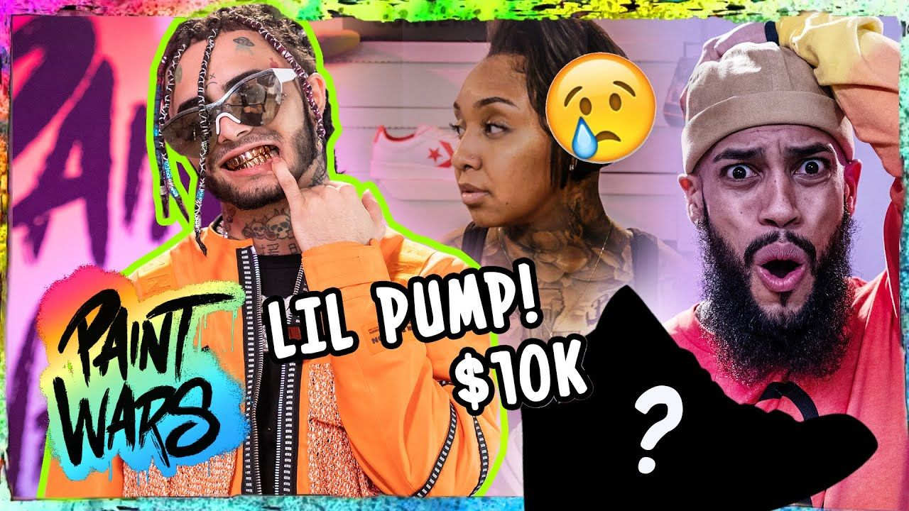 "Lil Pump SHOCKED By Insane Custom Shoes! Emotions EXPLODE With $10K On Line! ""DON'T Talk To Me"" 😱"