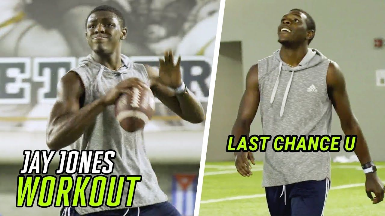 """There Was A Lot Going On Not On Camera."" Last Chance U QB Jay Jones Opens Up In SECRET WORKOUT 👀"