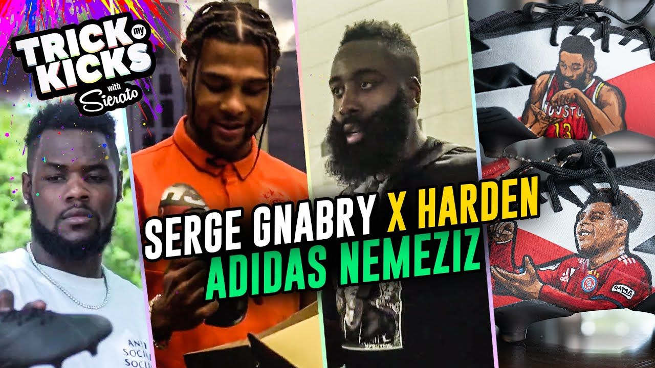 Serge Gnabry Gets Custom Boots From Sierato! JAMES HARDEN Pulls Up To Watch Bayern v Real Madrid 😱