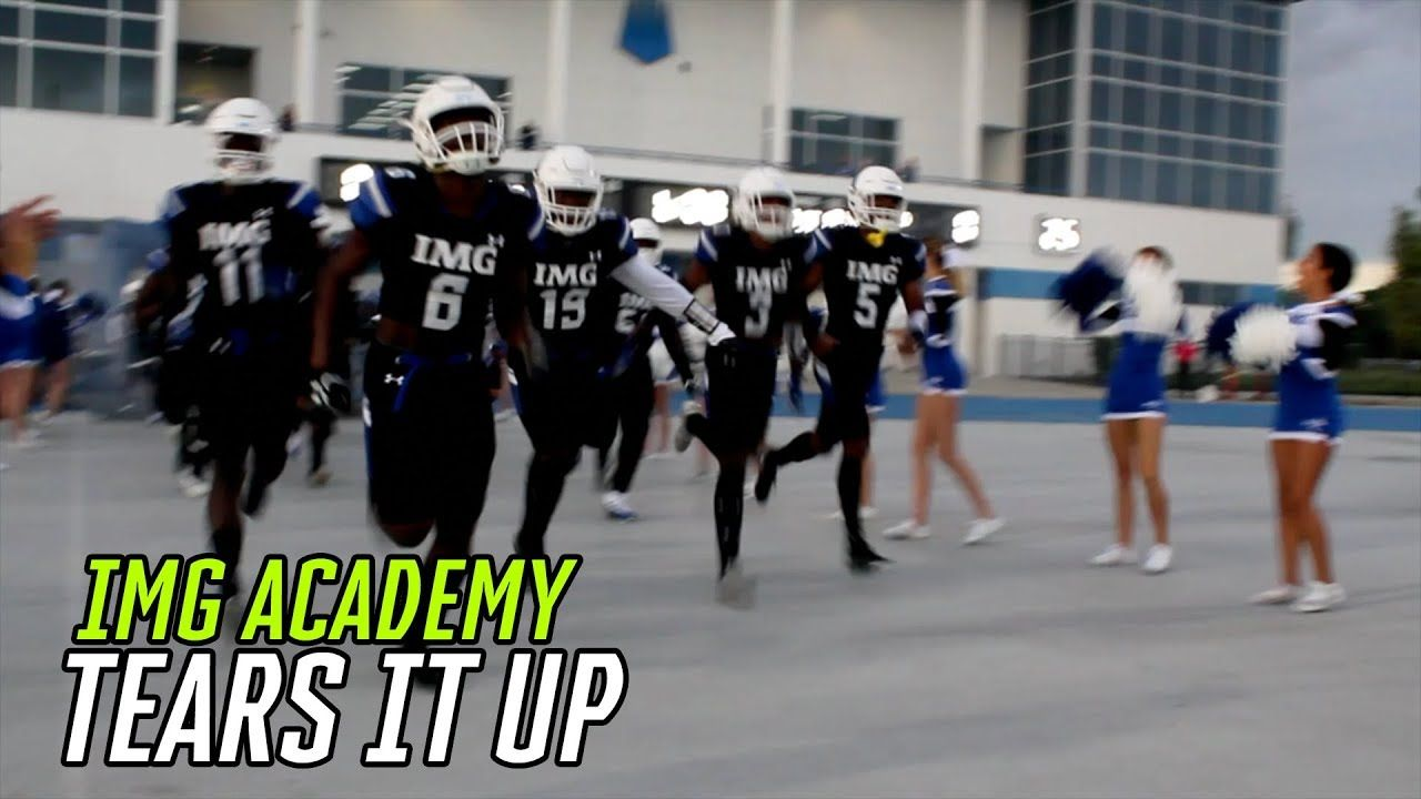 IMG Academy Wins 39th STRAIGHT GAME! #1 RB Trey Sanders LIVES In The END ZONE 🤫