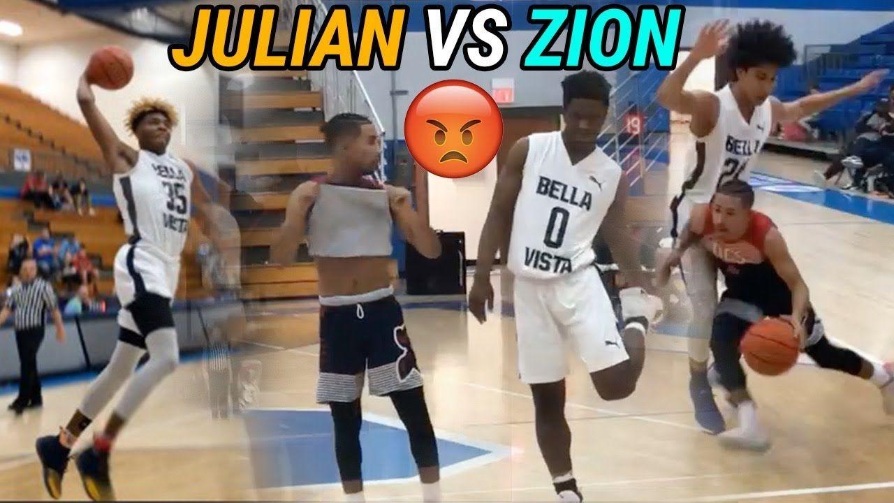 Julian Newman vs Zion Harmon Was A 1-1 SHOW! Insane Highlights & Both Guys Scored 30!!!