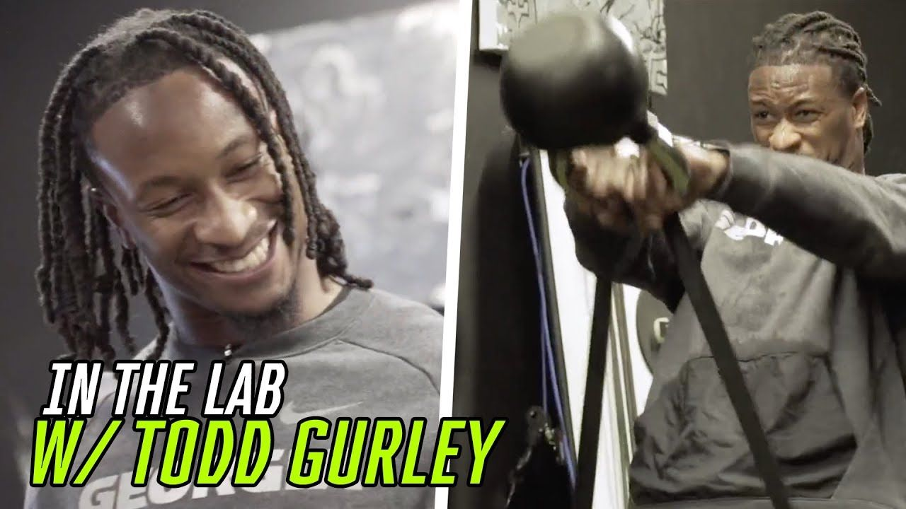Todd Gurley Invited Us To His SECRET Workout! Rams Star Is The Best Running Back In The NFL!? 😳