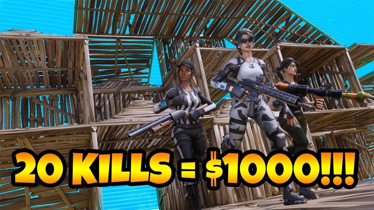 First To 20 Kills GETS $1000!!!