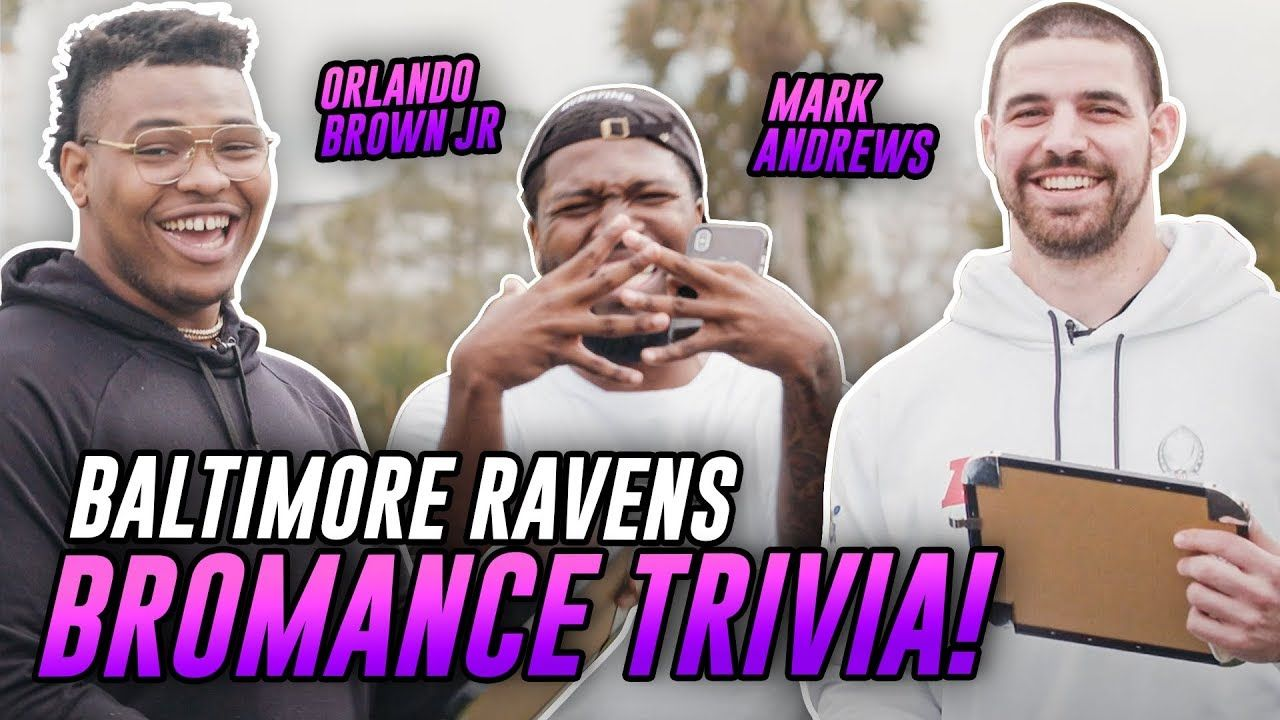 """Would You Rather Play With BAKER Or KYLER!?"" Baltimore Ravens Stars Test Their BROMANCE"