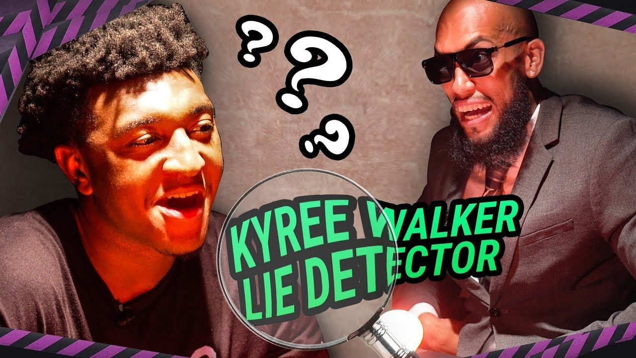 Kyree Walker Talks About His AGE In The Funniest Lie Detector EVER! Larry & Kyree Got HEATED 😱