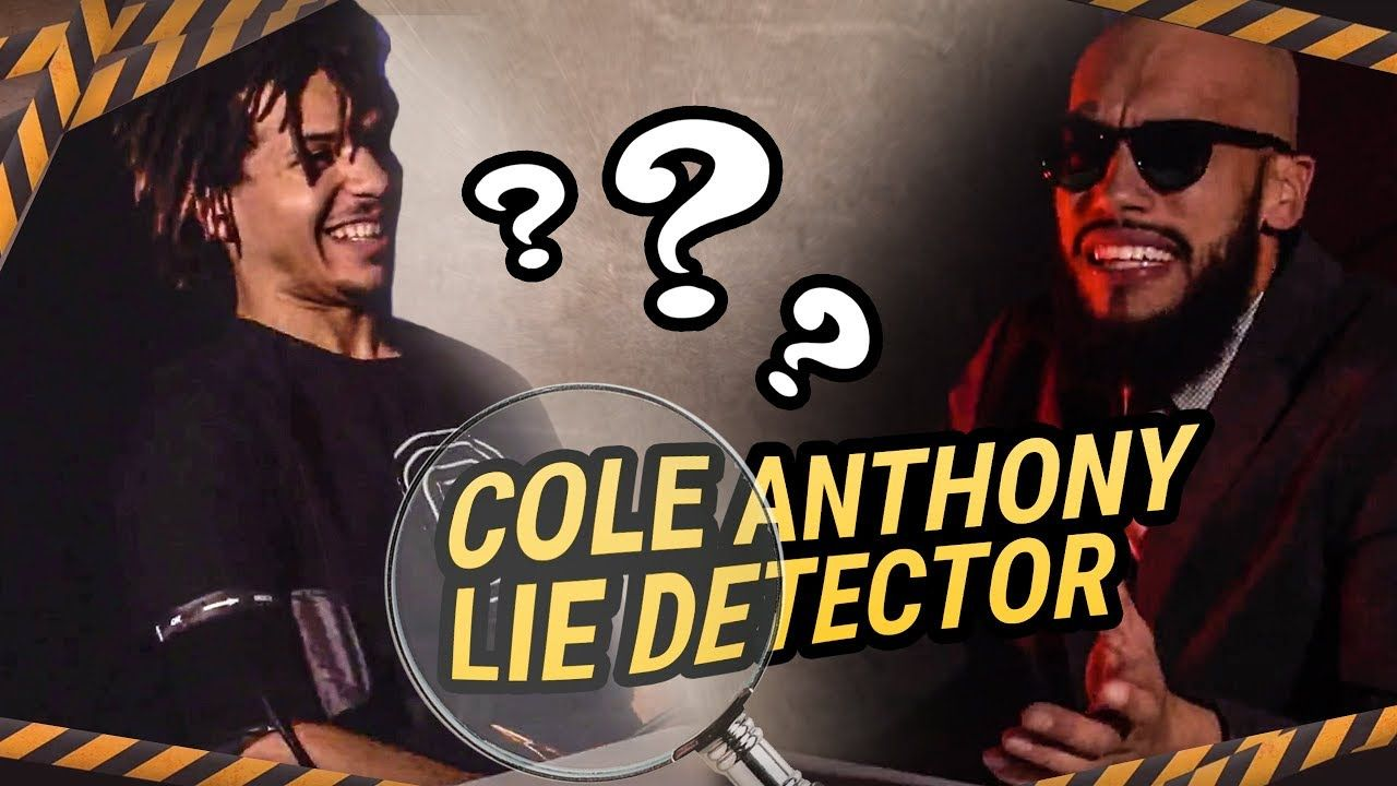 COLE ANTHONY on Lie Detector! Opens Up On The Rumors & Calls Himself The BEST PLAYER In The Nation!