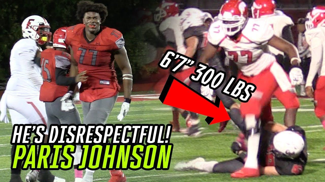 "Ohio State's Next MONSTER Is 6'7"" & 300 POUNDS!? Paris Johnson Is Mr. Pancake 2.0 🔥"