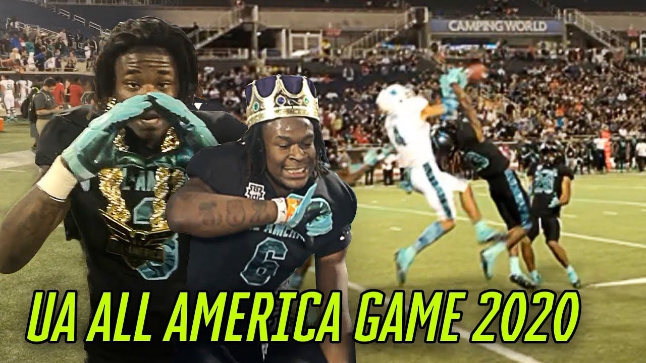 Julian Fleming & Zach Evans GO OFF At All American Game! Deion Sanders Coaches VS Ed Reed!
