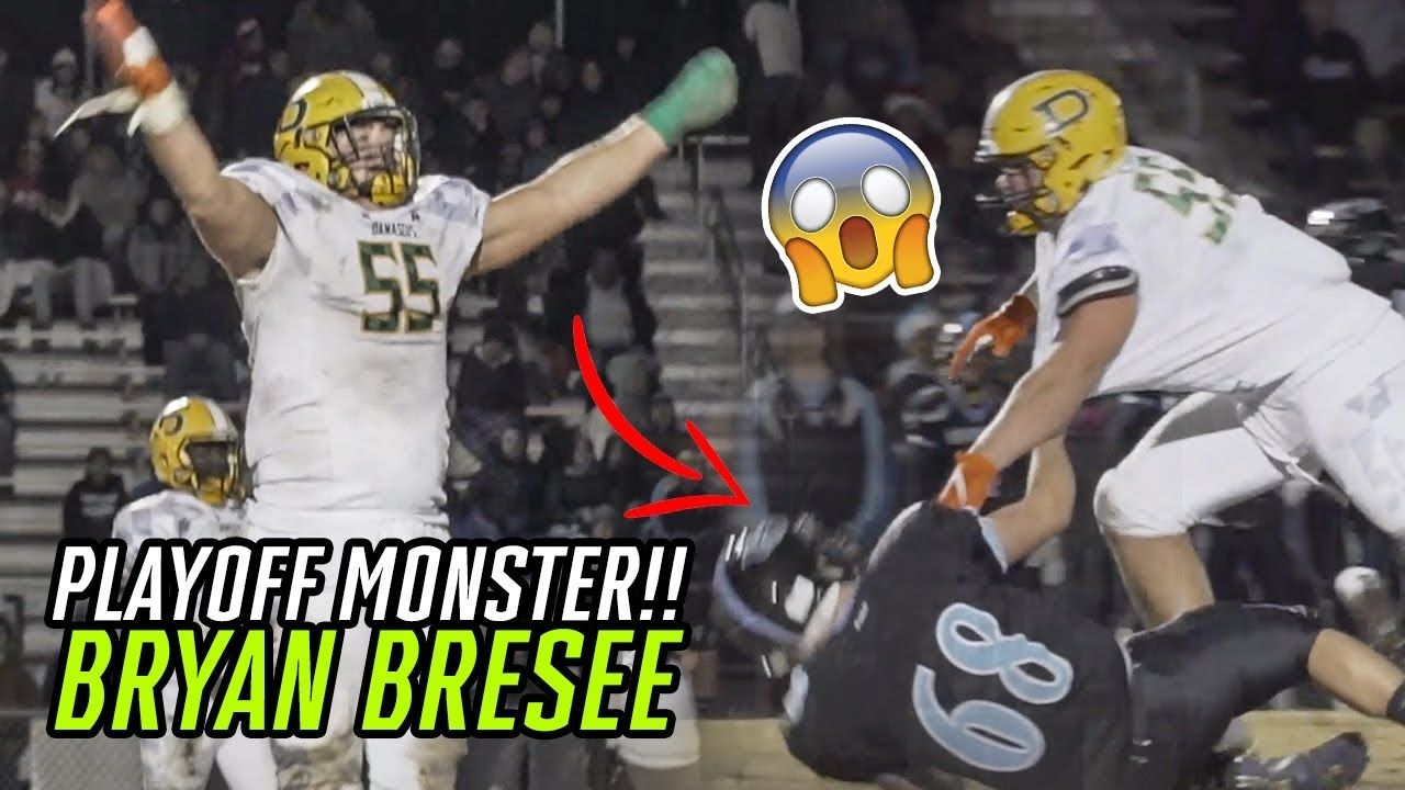 Bryan Bresee Dominates Wearing A CAST! Rips Cast Off MID GAME & Heads to STATE CHAMPIONSHIP!