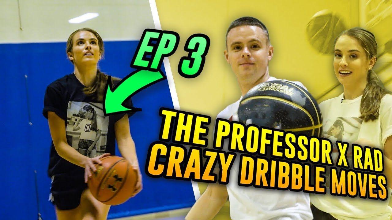 The Professor Teaches LEGENDARY Streetball Move To Rachel DeMita...Then She CROSSES A Stranger 😱