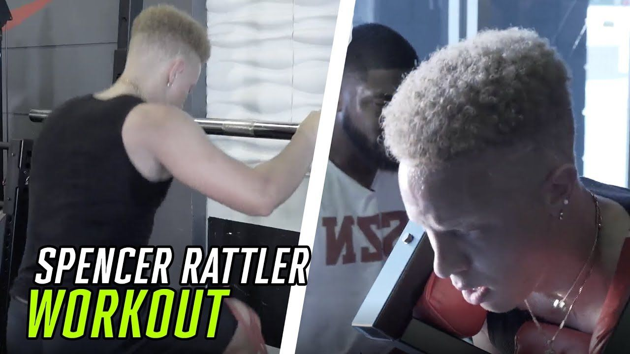 Spencer Rattler's FULL PRO WORKOUT! Oklahoma QB Getting BIG For College 😤