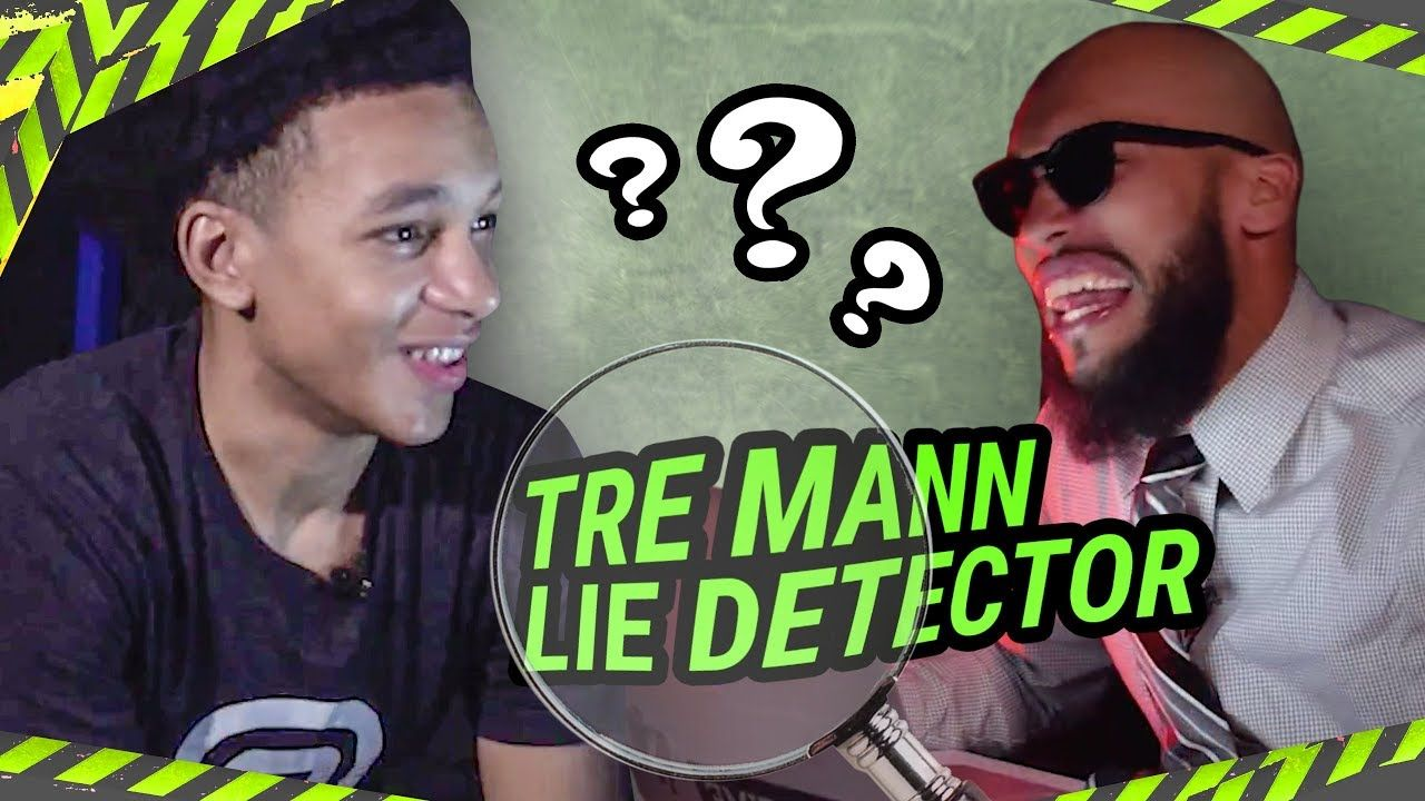 """I Don't See Rankings."" Florida PG Tre Mann Is SWEATING On Lie Detector! Talks SCOTTIE LEWIS 😱"