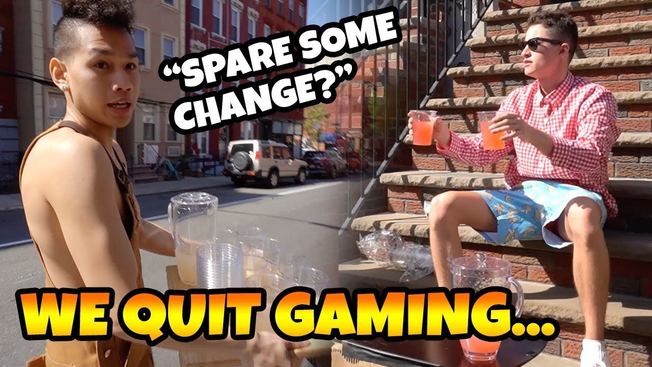 We Quit Gaming To Sell Lemonade
