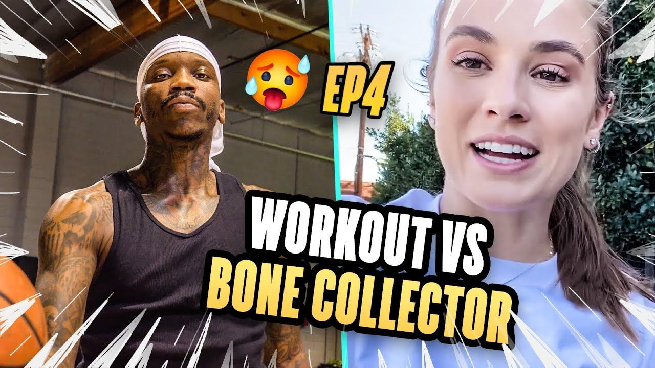 The Secret Workouts That Gave Bone Collector His Handles! Rachel DeMita Learns How To BREAK ANKLES!
