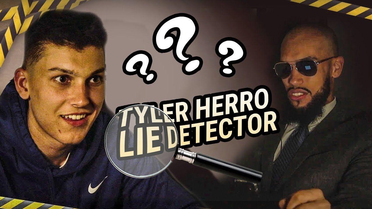 Tyler Herro SLIDES INTO DMs!? Lie Detector Test Reveals EVERYTHING 😭