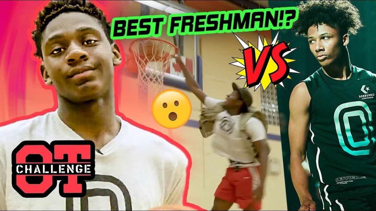 Elijah Fisher Is FIGHTING Mikey Williams To Be The #1 Freshman! SHOWS OUT In Overtime Challenge 😱