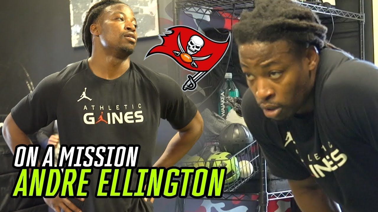 """Not Playing Last Year Kept Me HUNGRY."" Bucs RB Andre Ellington Isn't Taking ANYTHING For Granted!"