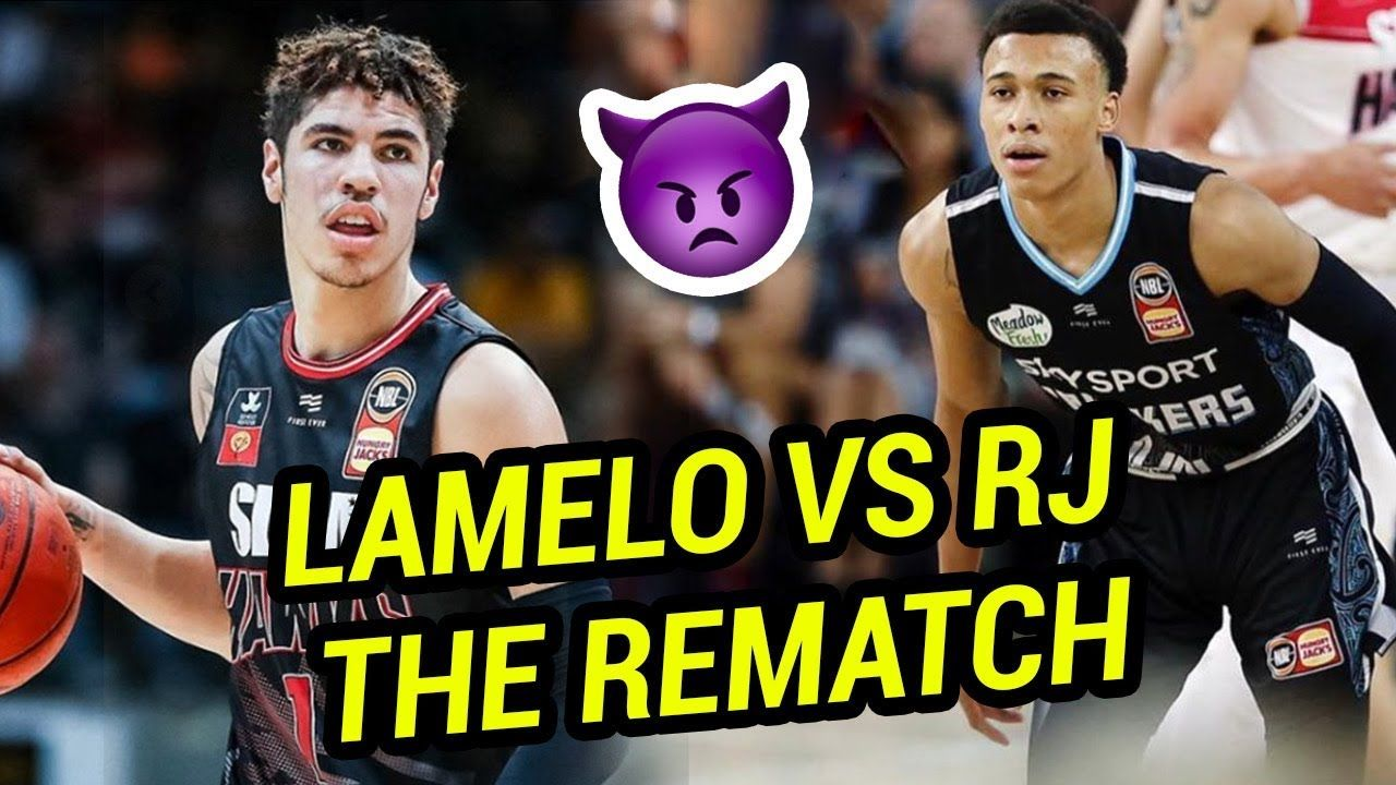 LaMelo Ball & RJ Hampton Have INSANE REMATCH In NBL! LaMelo Catches A Body & Drops TRIPLE DOUBLE 😈