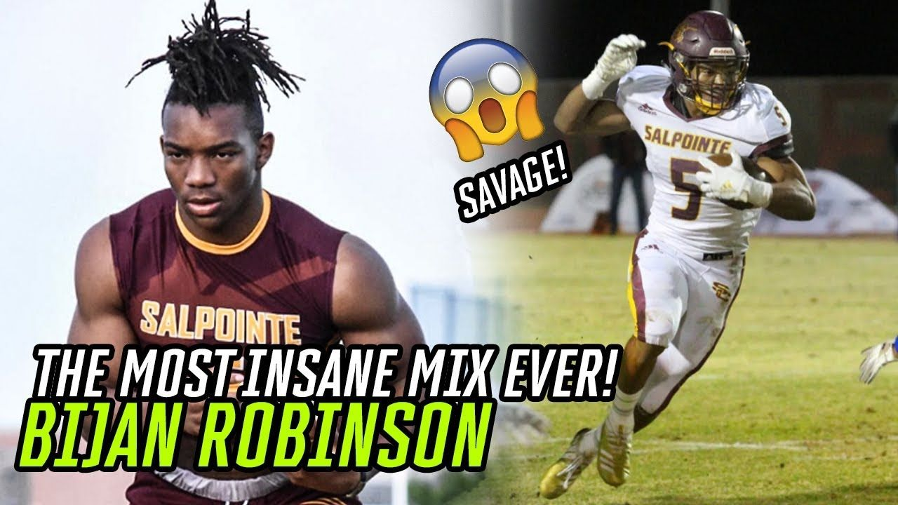 The #1 High School Running Back In AMERICA!! Bijan Robinson Official Senior Year Highlights 🔥