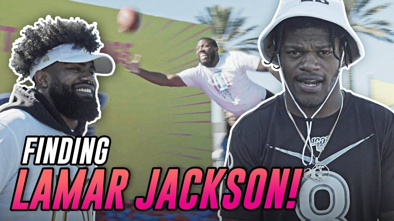 Where Is LAMAR JACKSON!? We Flew To The Pro Bowl To Find Ezekiel Elliott And The NFL MVP!
