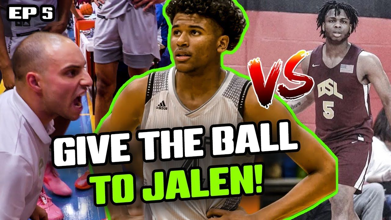 """These Guys Are Gonna HURT YOU!"" Jalen Green & Prolific Battle MEAN NYC Team! Jalen PRANKS Teammate!"