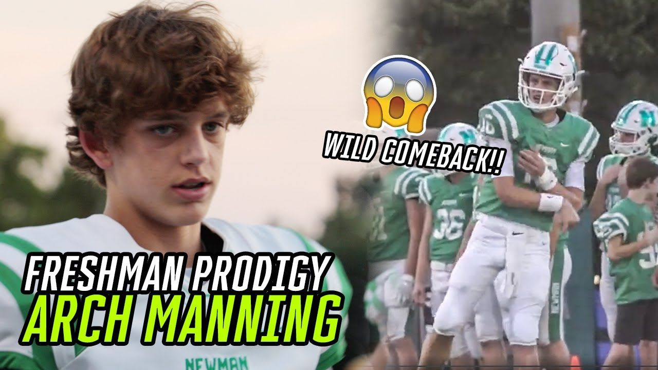 Freshman Quarterback Arch Manning Is CLUTCH!! Leads Epic 4th Quarter Comeback To Stay UNDEFEATED!