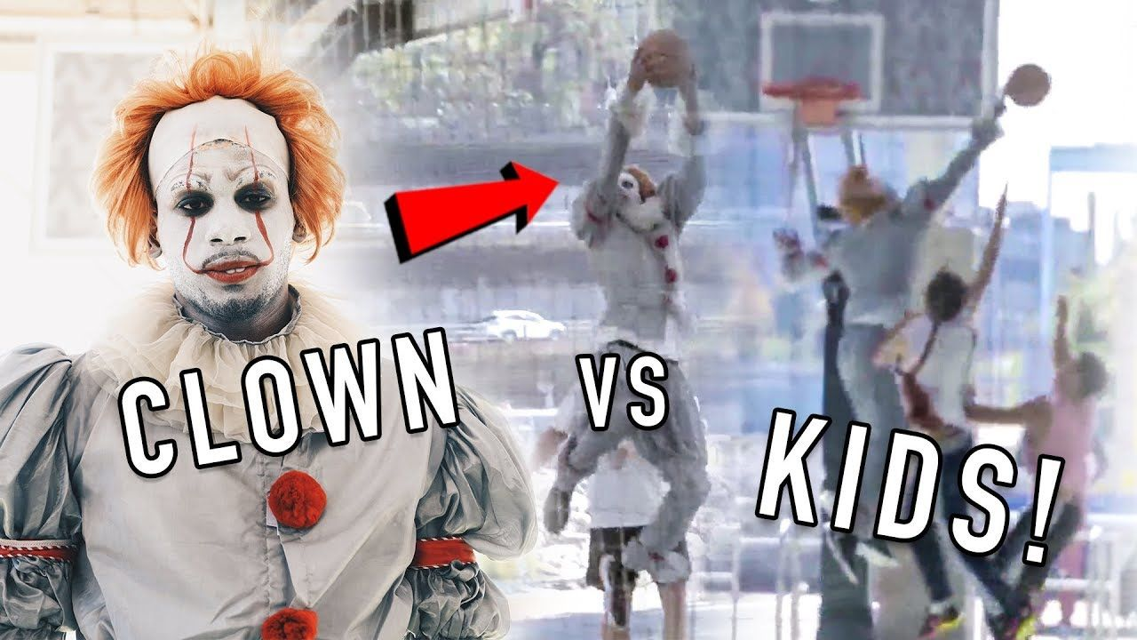 Clown Pulls Up To NYC Park & TERRORIZES Kids! Get DUNKED ON Before HALLOWEEN 😱
