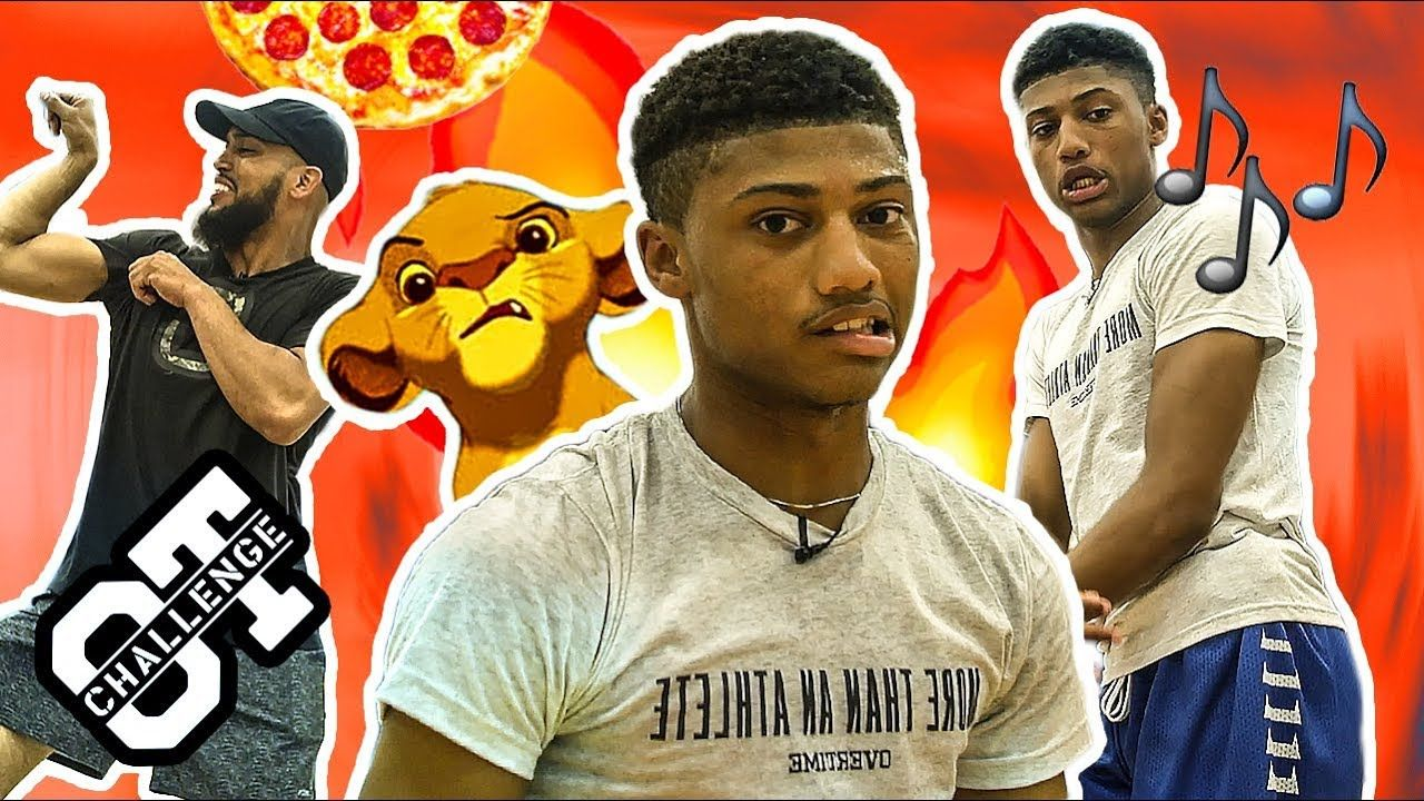 Noah Farrakhan Comes Back At JADEN NEWMAN In The Overtime Challenge! FUNNIEST PLAYER In The Nation!