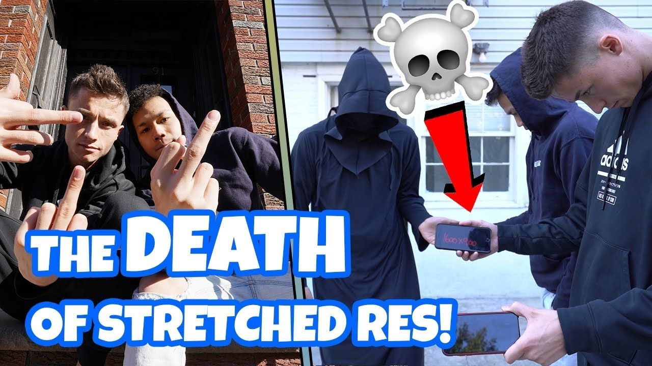 Fortnite F#%KING Killed Stretched Res & We BURIED It!!