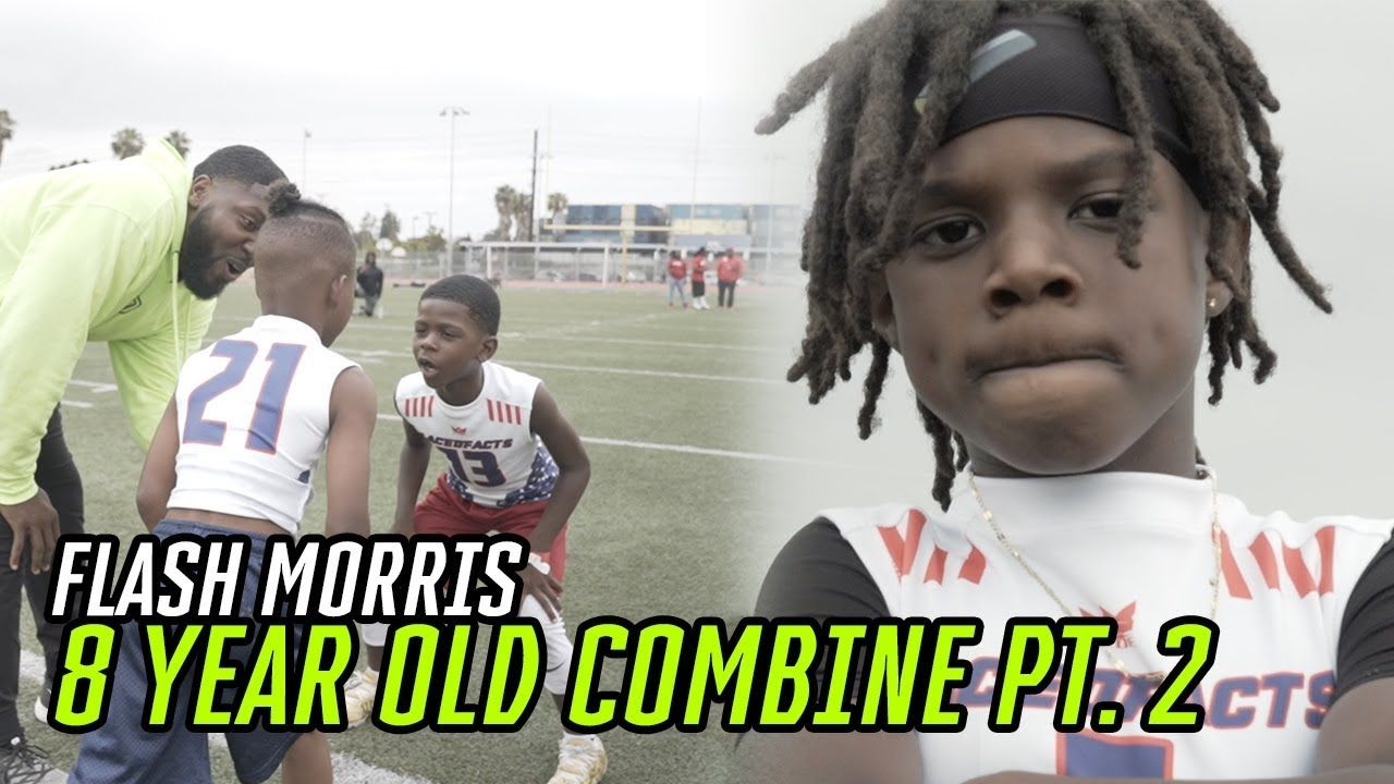 Top 8 Year Olds In The Country go Head To Head At INTENSE COMBINE! Behind The Scenes With FLASH 😱
