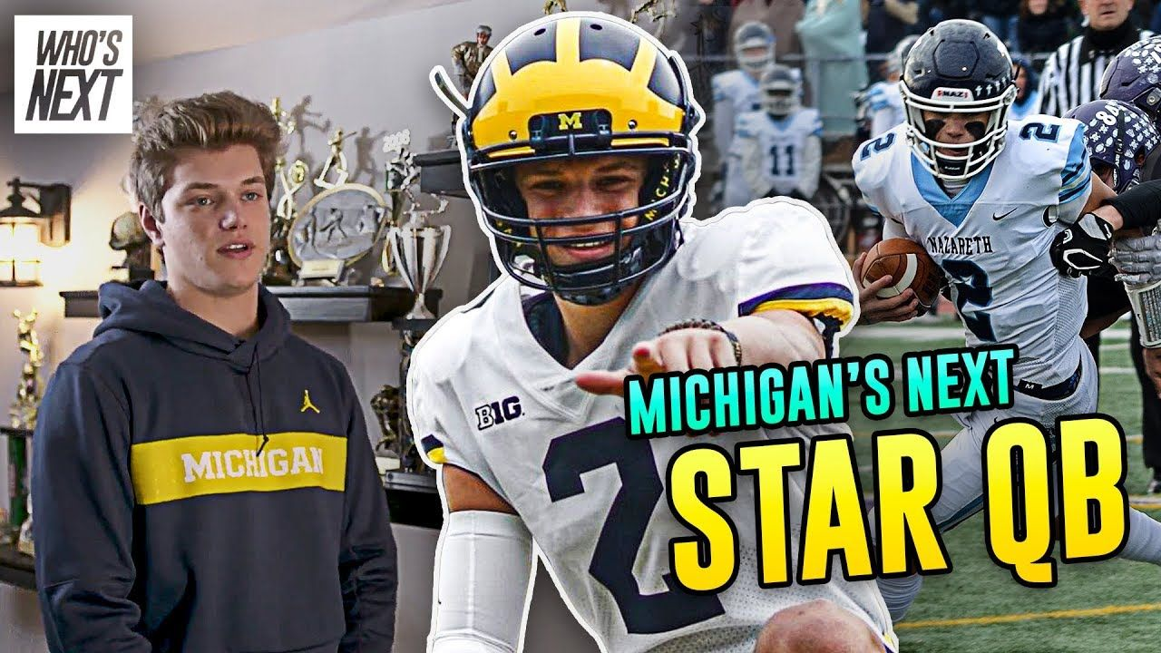 """I'm Obsessed With Being GREAT!"" Michigan QB Commit JJ McCarthy Is The HARDEST WORKER In The Country"