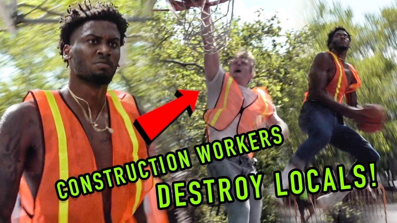 Construction Workers BALL OUT In Fancy NYC Neighborhood! Lunch Break Got WILD! 😱