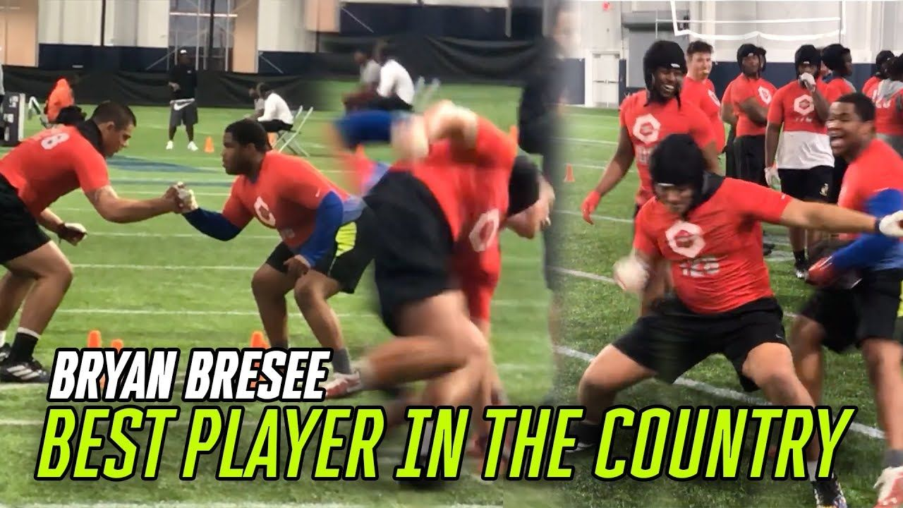 Top Recruit Bryan Bresee Put On A CLINIC At The Opening! The Best Lineman I've EVER SEEN 😱