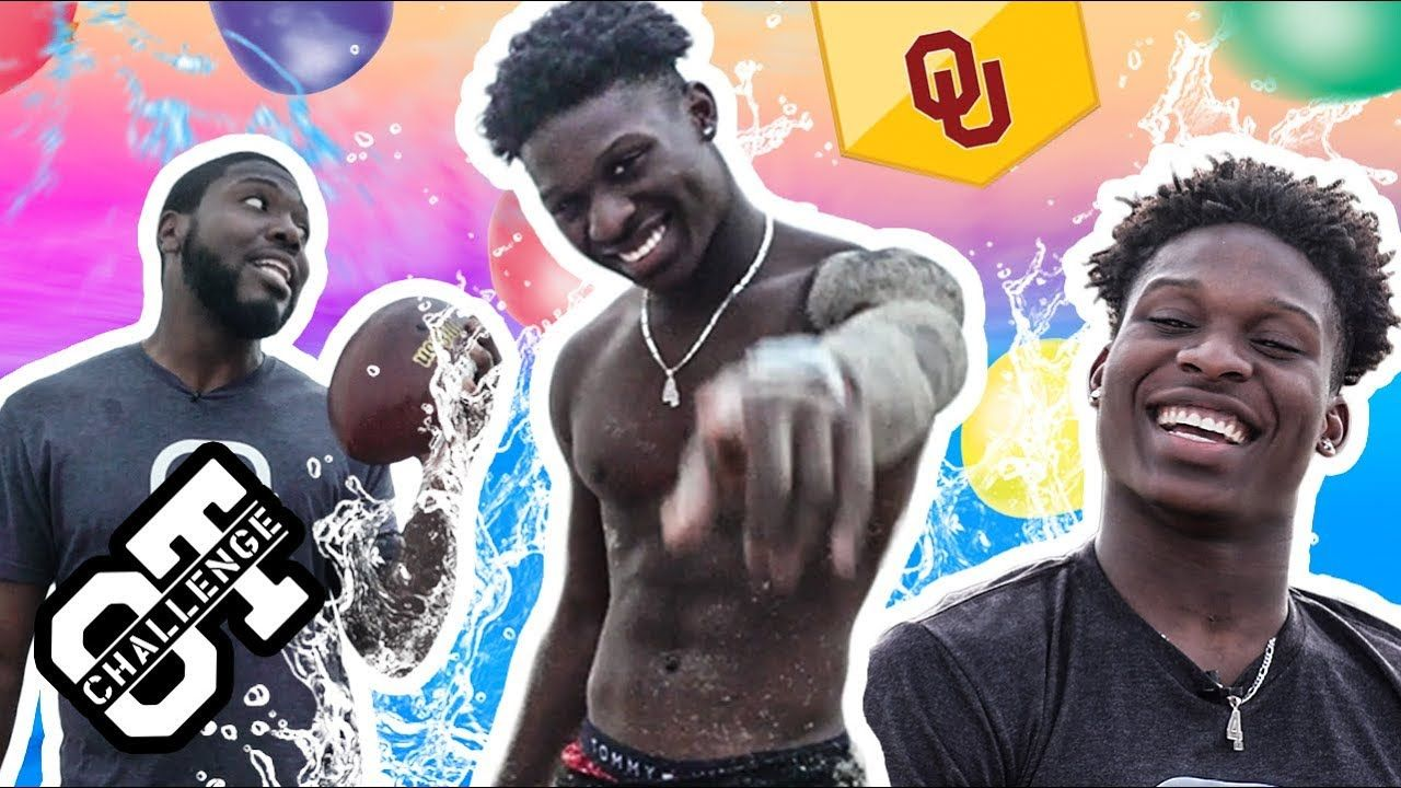 OU's Jaden Davis Gets DIRTY In The First Ever BEACH Overtime Challenge! Challenges Kardell Thomas 👀