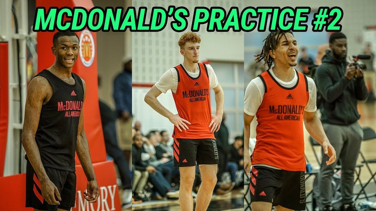 McDonald's All Americans Go 1 ON 1!!! Nico Mannion, Cole Anthony & Tyrese Maxey CAN'T BE STOPPED 😱