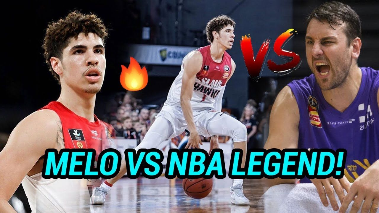 LaMelo Ball GOES OFF Vs NBA Legend Andrew Bogut In Front Of Biggest Crowd In NBL HISTORY! INTENSE 👿