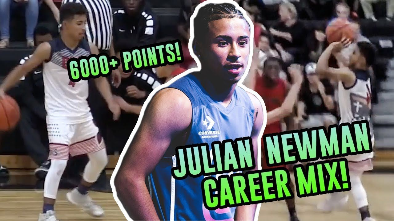 Julian Newman CAREER MIXTAPE! 6000+ Points + Ankle Breakers & INSANE RANGE! Where's He Playing Next?