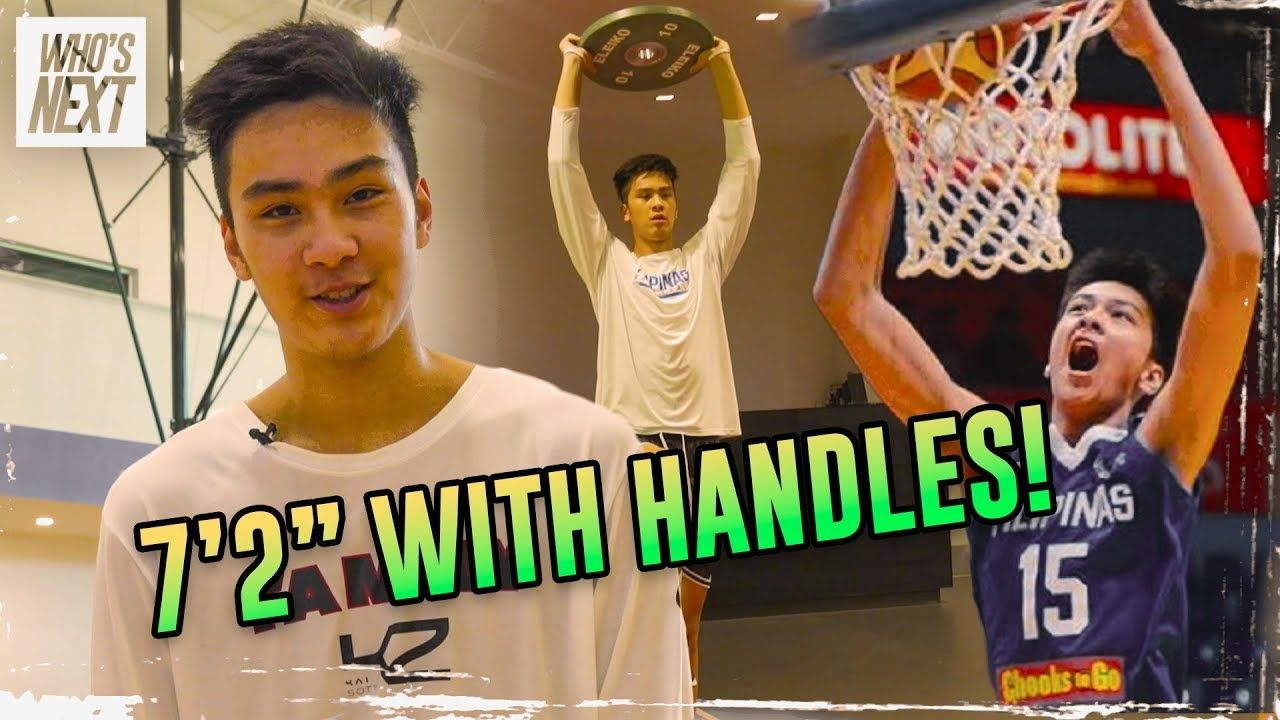 """No One 7 Foot 2 Doing THAT!"" How Kai Sotto Became An International Star! Behind The Scenes With Kai"