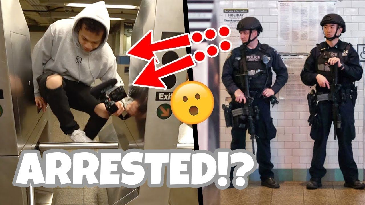 We almost got arrested...