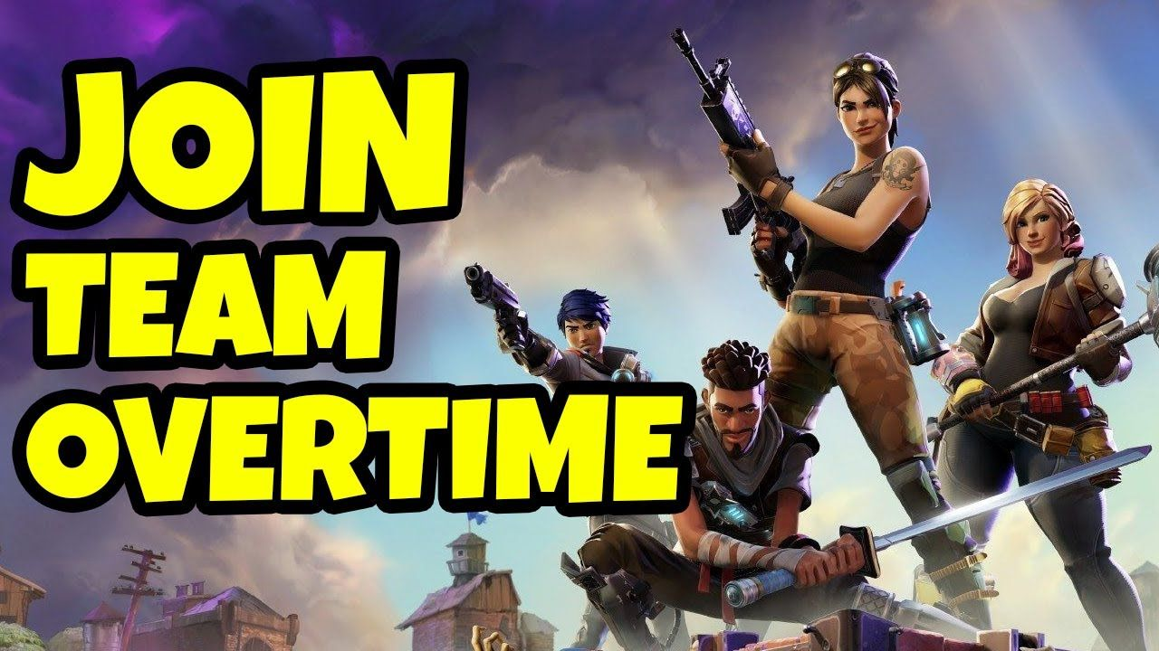 Here's How To JOIN TEAM OVERTIME
