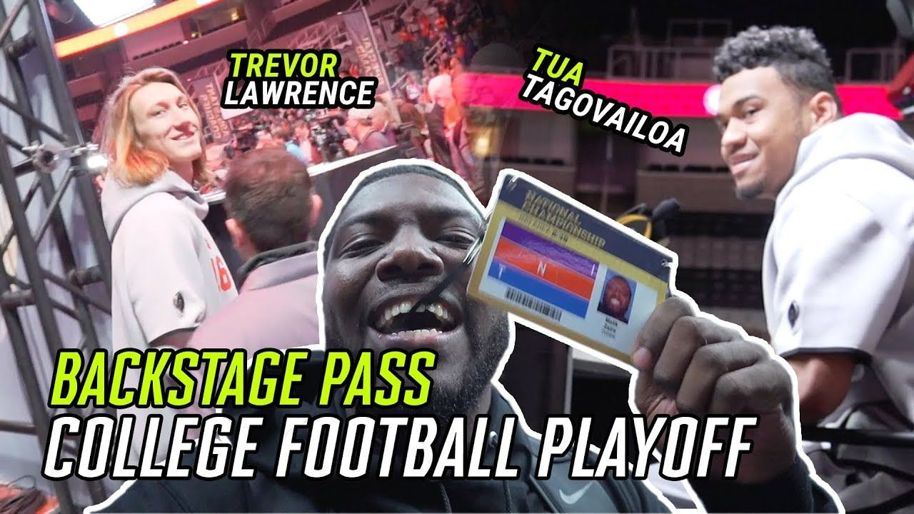 We Hung Out With Tua Tagovailoa & Trevor Lawrence Before The National Championship! It Got CRAZY 😱