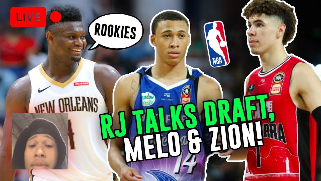 RJ Hampton & LaMelo Ball Talk EVERY DAY!RJ Talks Zion Williamson, Playing In New Zealand & More 😱