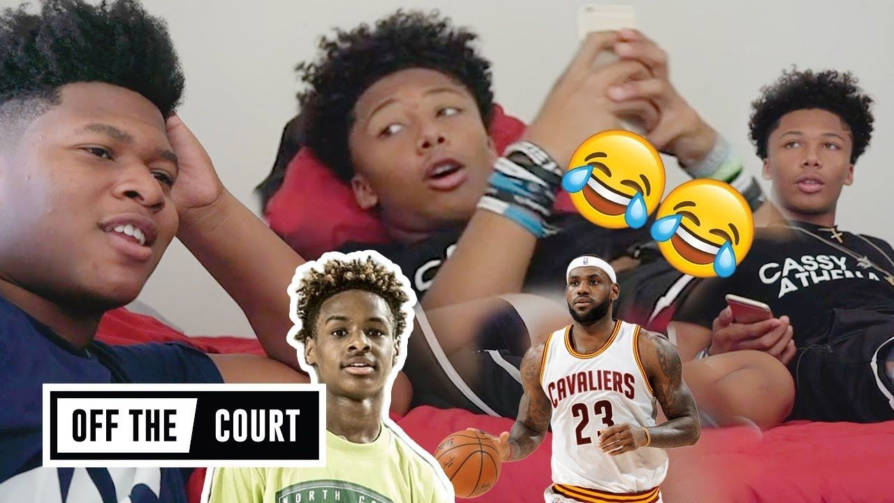 Mikey Williams & Jahzare Jackson Are TOO FUNNY! Opens Up On Becoming Blue Chips With BRONNY JAMES!
