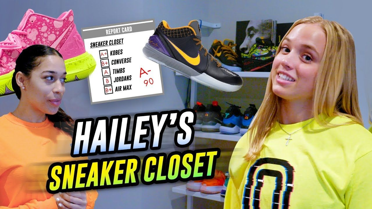 """Kobe HANDED Me These!"" Hailey Van Lith Gets EXCLUSIVE Kicks From MAMBA & Shows Off Sneaker Closet 😱"