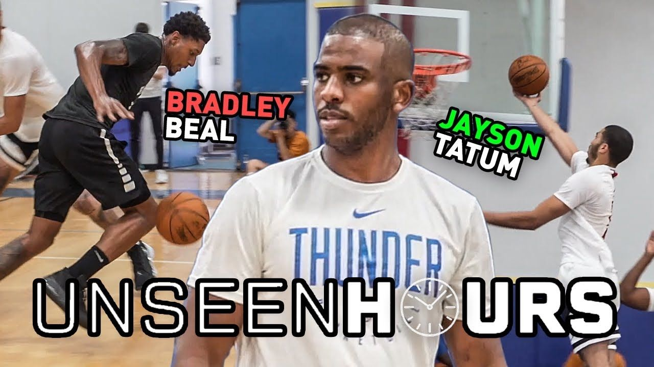 Chris Paul, Jayson Tatum & Bradley Beal Play 1 On 1 In Unseen Hours! Who Comes Out On Top? 😱