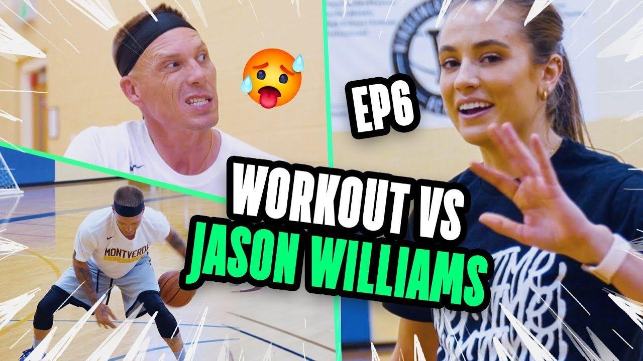 Jason Williams Shows DRIBBLING & SHOOTING Drills To Rachel DeMita! White Chocolate Got ALL The Moves